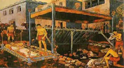 eski tunç çağı ölü gömme töreni
