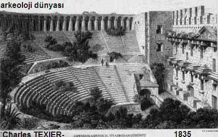 Aspendos Antik Kenti Tarihi : Aspendos antik kenti nde yazıt bulundu arkeofili