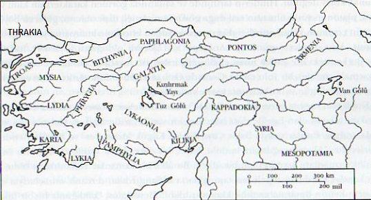 Antik Bölgeler haritaları
